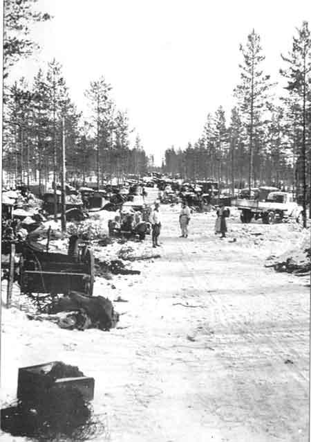 Южное Леметти после взятия финскими войсками