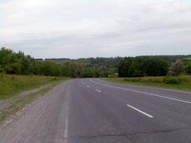 Западная окраина села Богачевка
