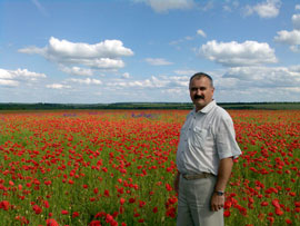 Маковое поле у села Богачевка