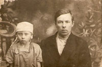 Матвей с дочерью Марией