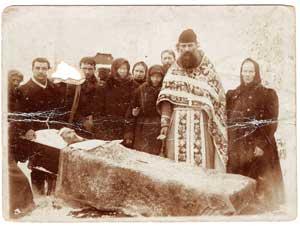 Священник села Рожня Иван Черский