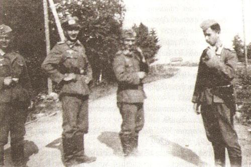 Немцы в Заонежье 1942 г.