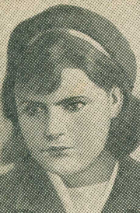 Разведчица Лидия Сидоренкова (расстреляна немцами)