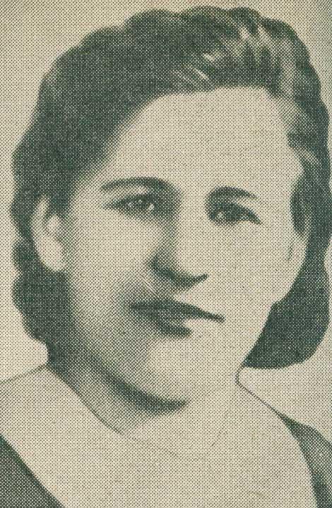 Разведчица Ольга Стибель (расстреляна немцами)