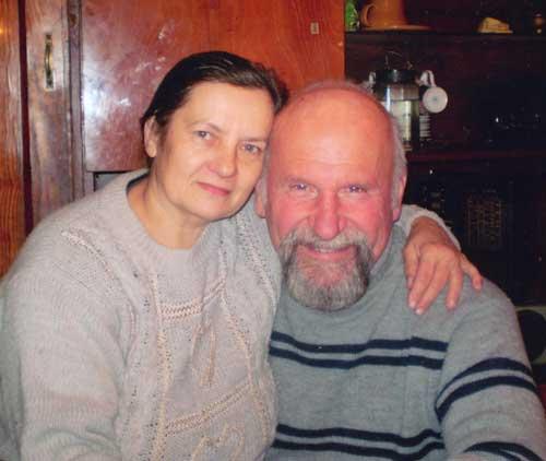 Дмитрий Арсеньев с супругой Тамарой
